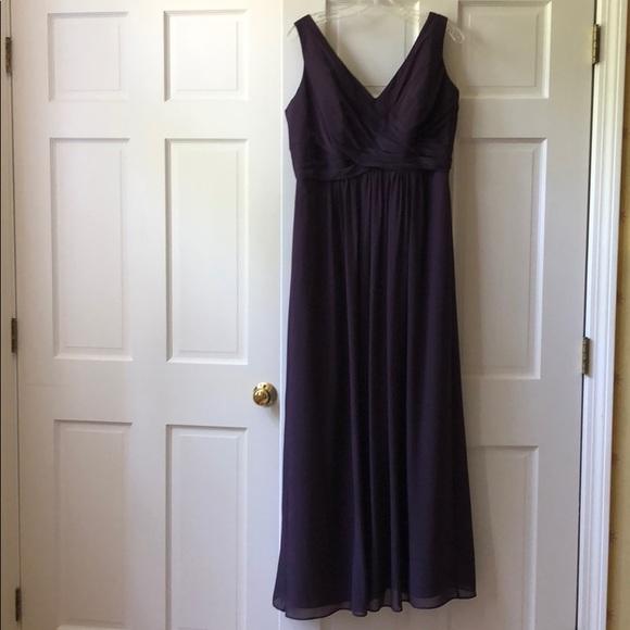 Bill Levkoff Dresses Long Purple Dress Poshmark